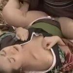 熟女動画の巨匠が描く三十路の農村に住む人妻が侍の青姦レイプで犯されるエロ大河ドラマ
