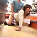 巨乳若妻の専業主婦がスーパーで媚薬入りのオカズを試食してしまい店員にレイプされる