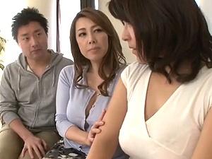 豊満主婦をスワップして背徳な寝取られ乱交の勃発!!!